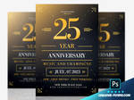 Free Birthday flyer Template by RomeCreation