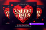 Valentine's Day PSD Flyer Template by RomeCreation