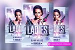 Ladies Night Flyer Template by RomeCreation