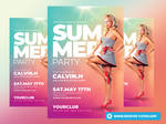 Summer Party Flyer Templates by RomeCreation