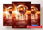 Music Festival Poster  by RomeCreation