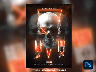 Halloween Poster Design by RomeCreation