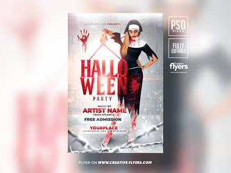 Halloween Flyer Design (PSD) Photoshop by RomeCreation