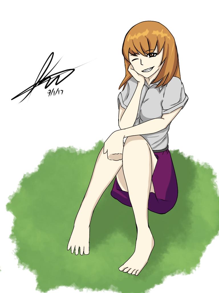 A Sitting Ball of Happiness by Kousuke-shii