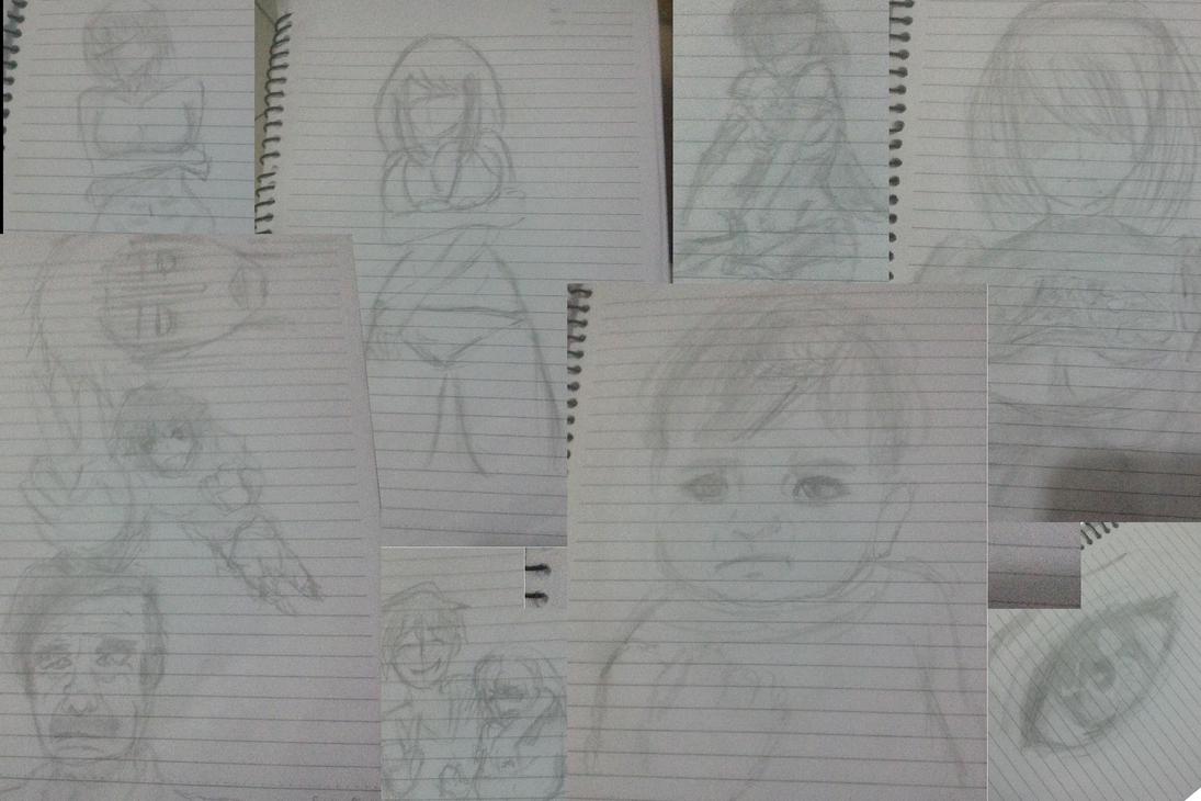 Sketches by Kousuke-shii