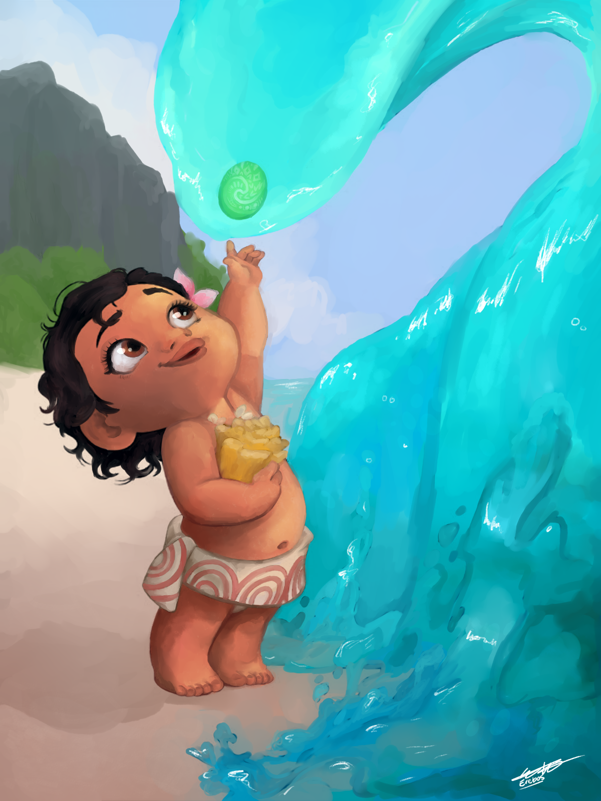 Baby Moana - Coloring Book Contest 2020