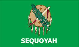 Sequoyah Flag - My AU