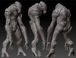 Alien sci fi armor by seiferzed