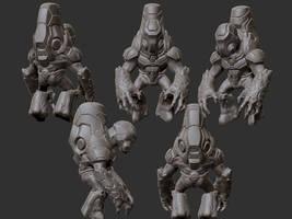 Grunt Concept by seiferzed