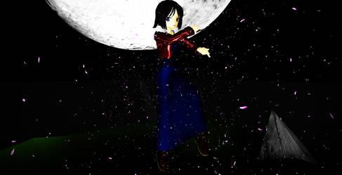 [MMD] Ryougi Shiki - Garden of Sinners by swordsman9