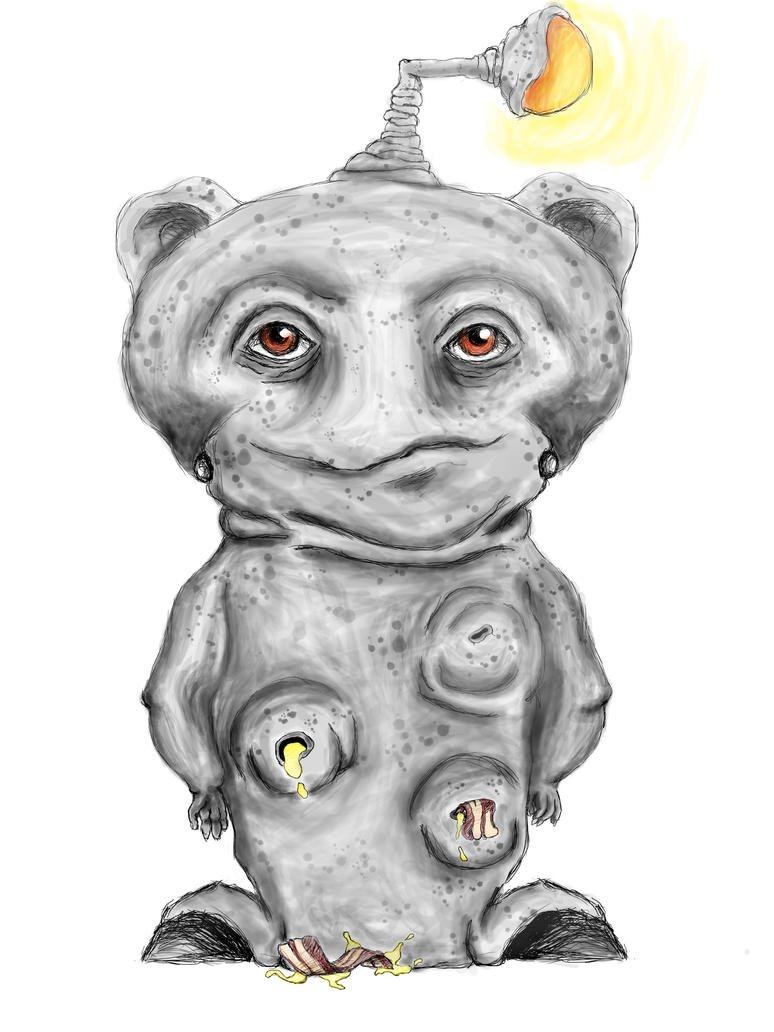 Reddit Alien by VandaLann