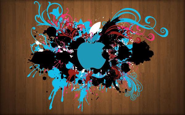 Splash of Apple by Edwin by iEdwin24