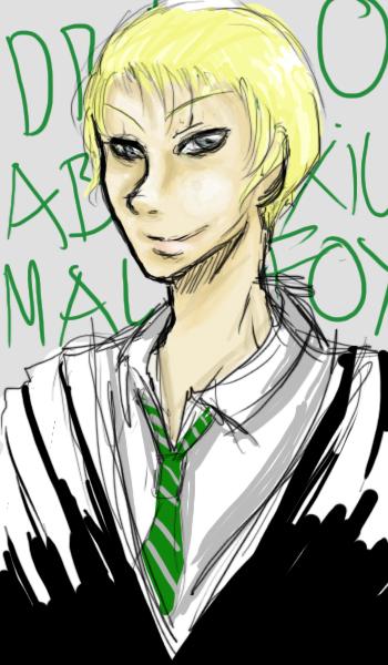 Draco Malfoy by OginoChihiro