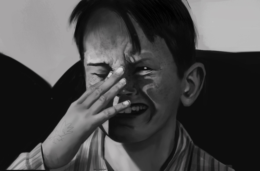The sad little kid from Peeping Tom by pescopo