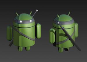 android logo samurai bot