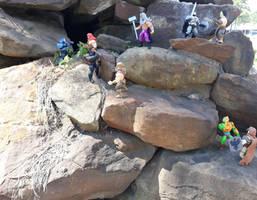 Battle of the rocks