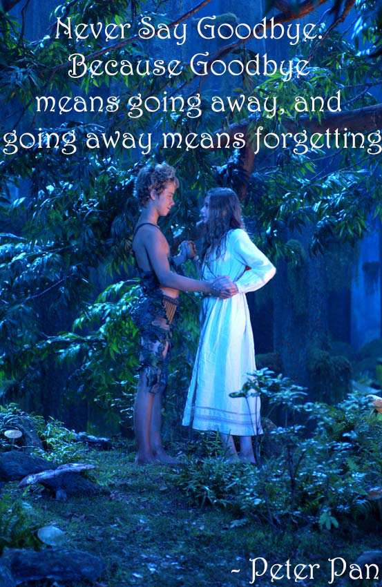 Peter Pan Quote 1 By Flaviamalfoy On Deviantart