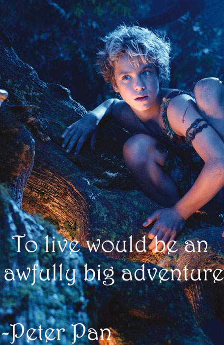 Peter Pan Quote 3 By Flaviamalfoy On Deviantart