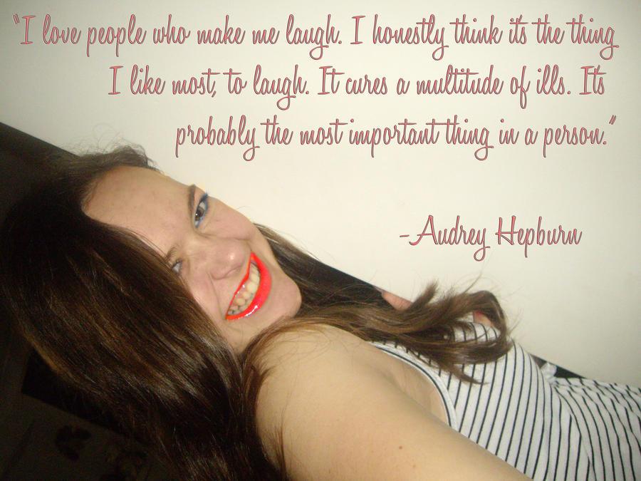 Audrey Hepburn quote... by Flaviamalfoy