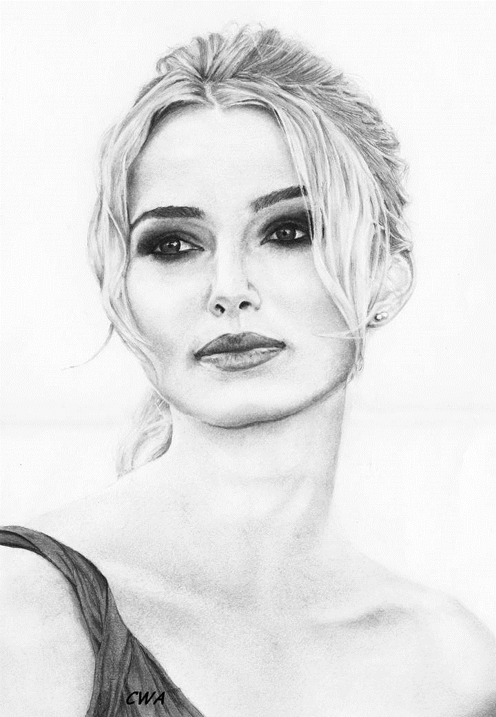 Keira Knightley by ChrisWoottonArt