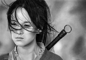 Zhang Ziyi by ChrisWoottonArt