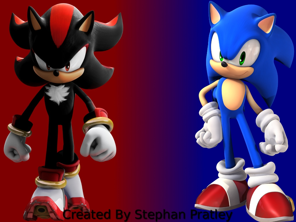 Shadow and sonic by stephan262 on deviantart - Sonic et shadow ...