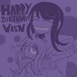 Happy Birthday Wrenzephyr2 by MentalCrash