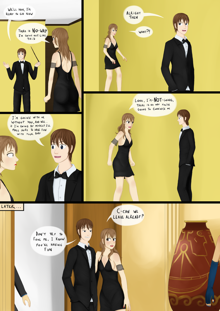 A night out with a difference - Page 3/3 by MentalCrash