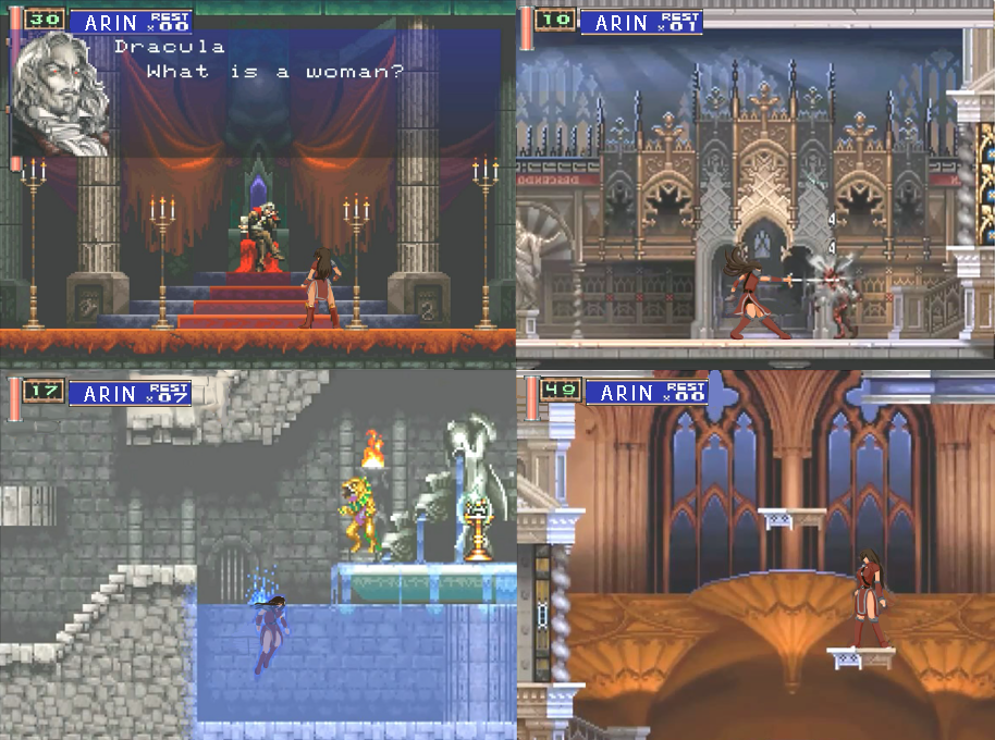 Castlevania - Elders of Thessaly - Screenshots by