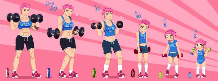 Zarya's Wimpy Workout by MentalCrash