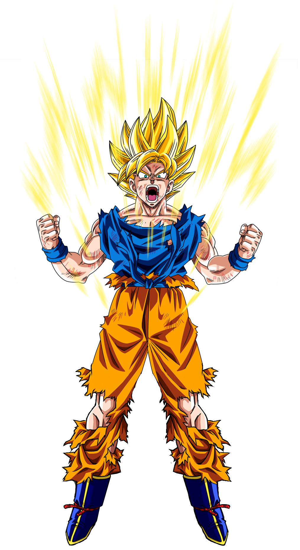 Goku Ssj 1 by elninja75 on DeviantArt