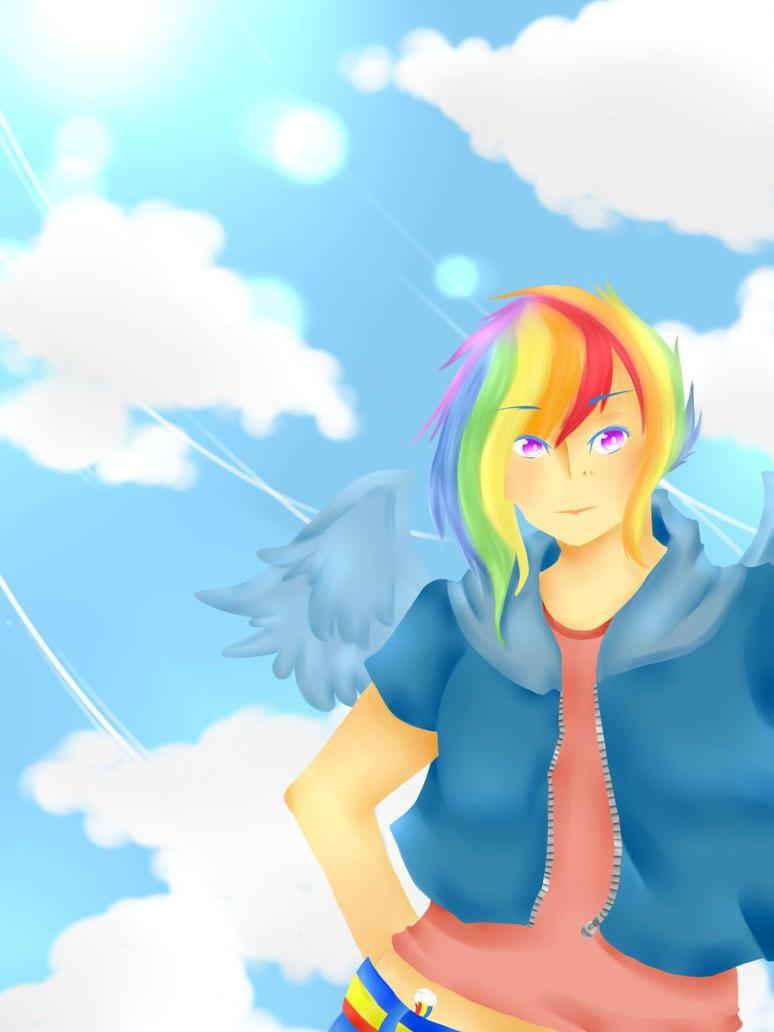 Rainbow Dash by srcpcsoha