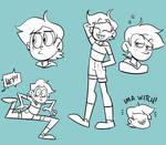 LUZ doodles