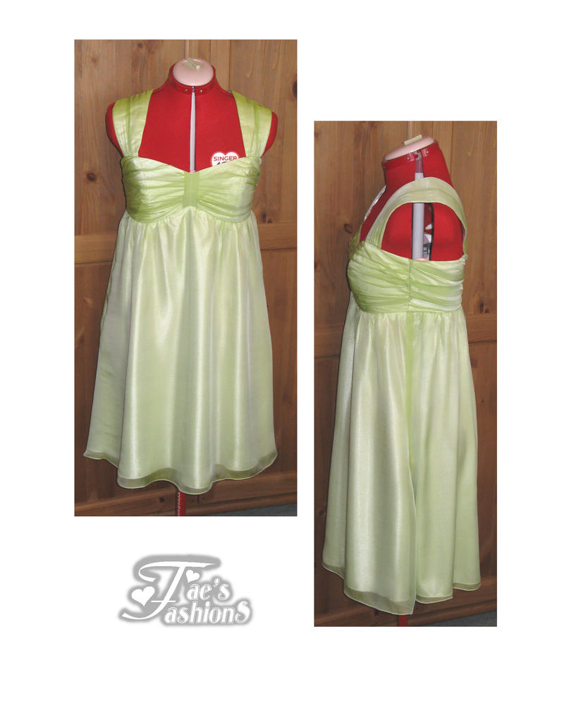 Celery bridesmaid dress by faesfashions on deviantart celery bridesmaid dress by faesfashions ombrellifo Image collections