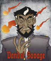 Vandal Savage by deadelk
