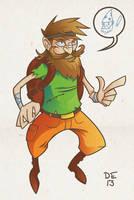Beard man by deadelk
