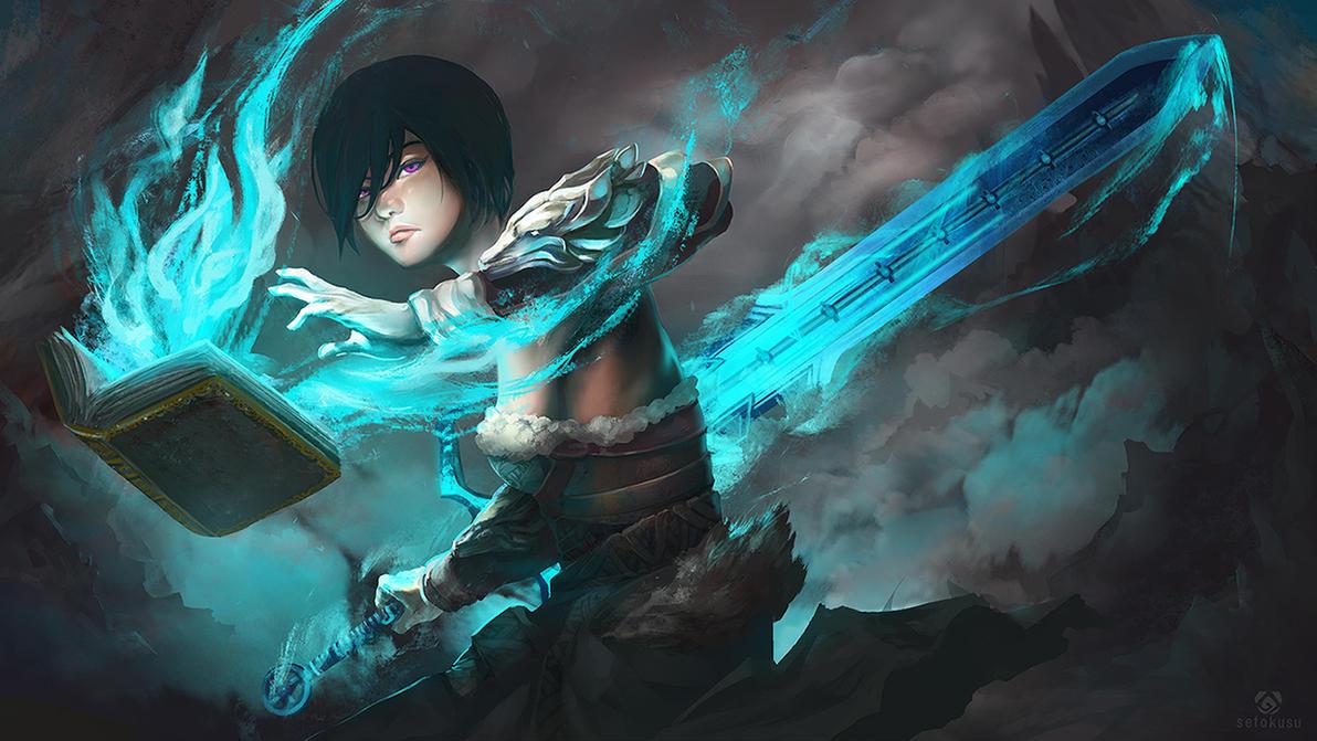 Guardian Guild Wars 2 By Windu190 – Dibujos Para Colorear