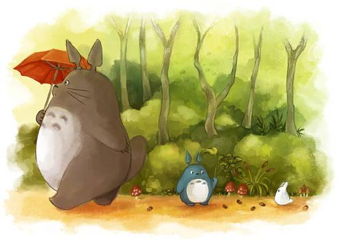 Totoro Stroll