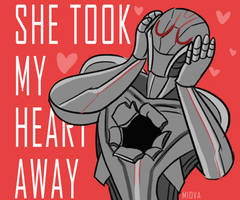 she took my heart away