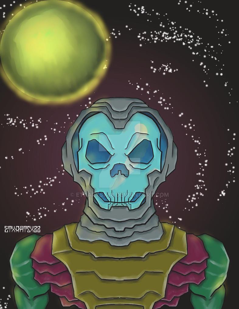Astro Skeleton revisited! by ETxARTSx88
