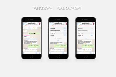 Whatsapp Poll Concept