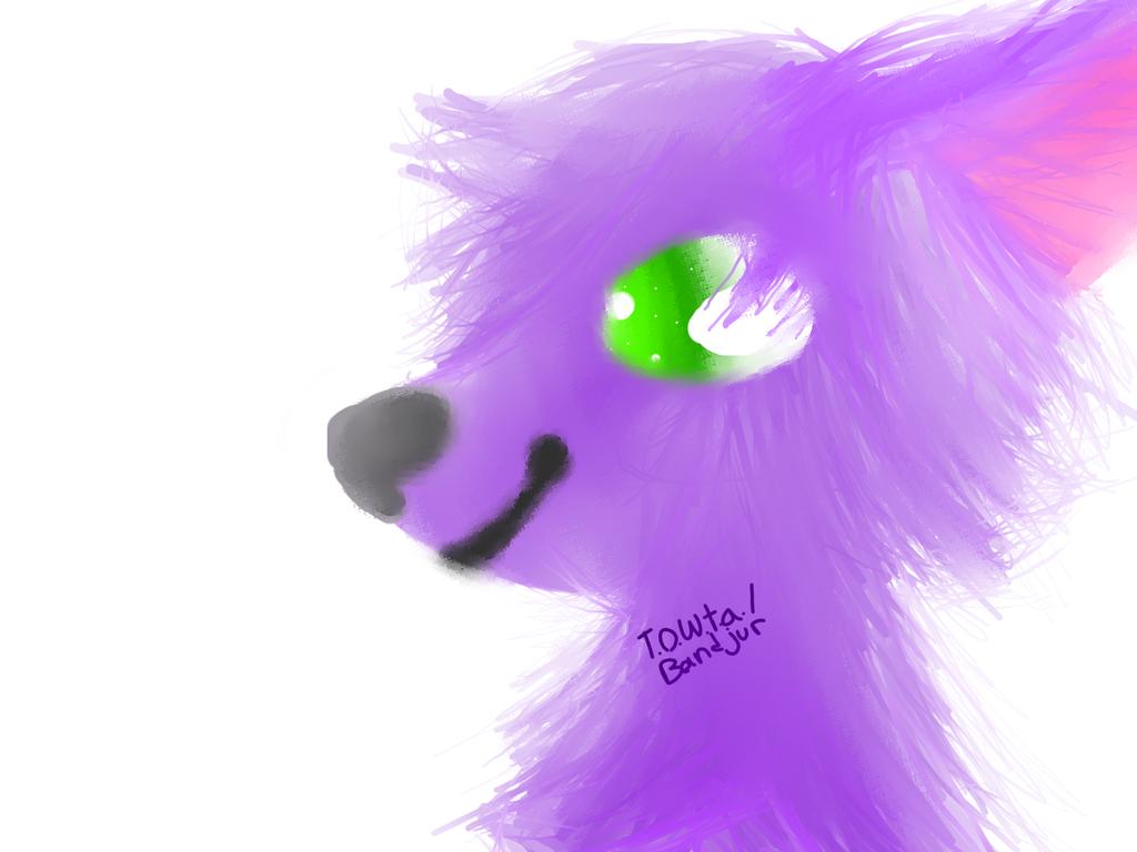 Fluffy thing. by TheOneWayToArt