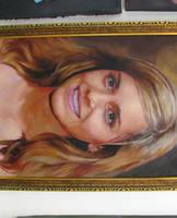 Emma Watson Painting VI by michaelandrewlaw