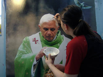 Pope Benedict pt.2 WIP by michaelandrewlaw