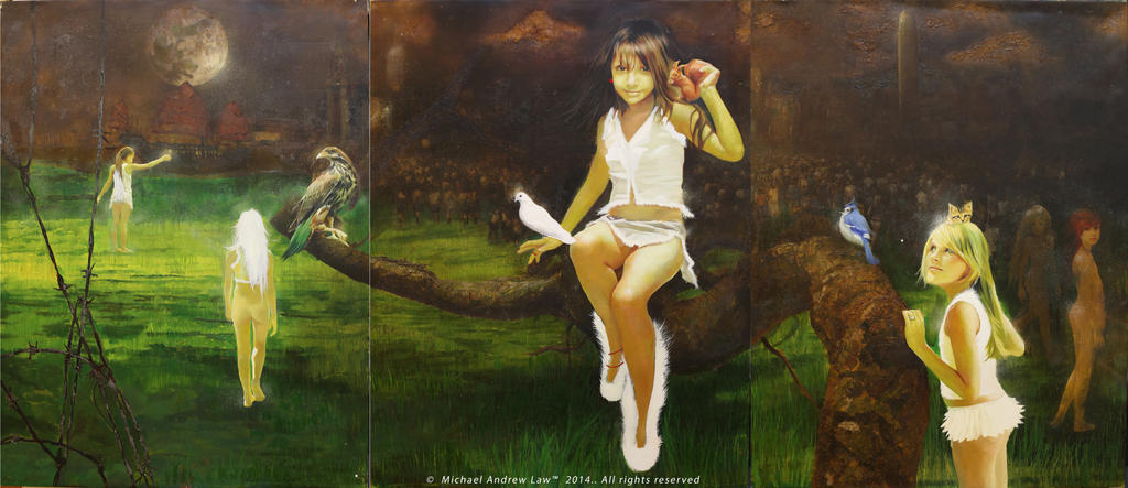 Pale Hair Girls : The Armageddon Childs by michaelandrewlaw