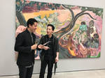 Michael Andrew Law meets with Michael Armitage 1