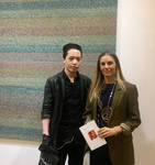 Michael Andrew Law Meets with Liza Lou