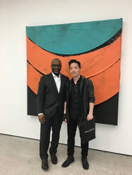 Michael Andrew Law Meets with Theaster Gates by michaelandrewlaw