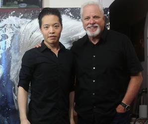 Michael Andrew Law and Mark Hooper by michaelandrewlaw