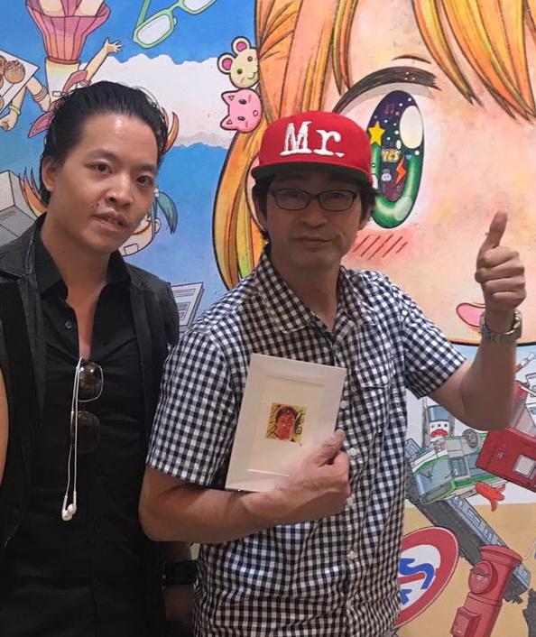 Michael Andrew Law meet with Mr from KaiKai Kiki by michaelandrewlaw